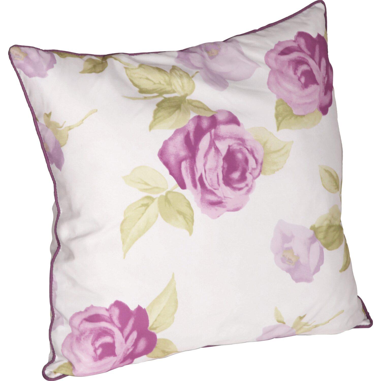 kissen mit rei verschluss rose pink flieder 50 cm x 50 cm kaufen bei obi. Black Bedroom Furniture Sets. Home Design Ideas