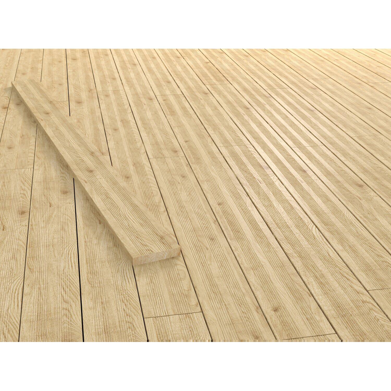Terrassendiele Larche Unbehandelt 200 Cm X 14 5 Cm X 2 8 Cm Kaufen