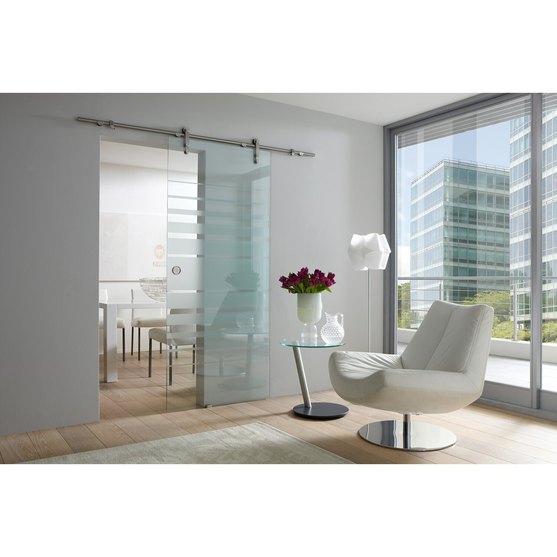 obi glasschiebet r coluna offenes system streifen 90 cm x. Black Bedroom Furniture Sets. Home Design Ideas