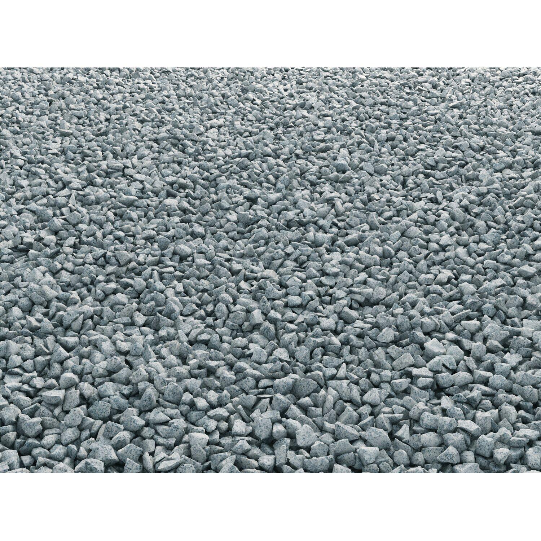 Granit splitt grau 8 mm 16 mm 15 kg sack kaufen bei obi for Obi zierkies