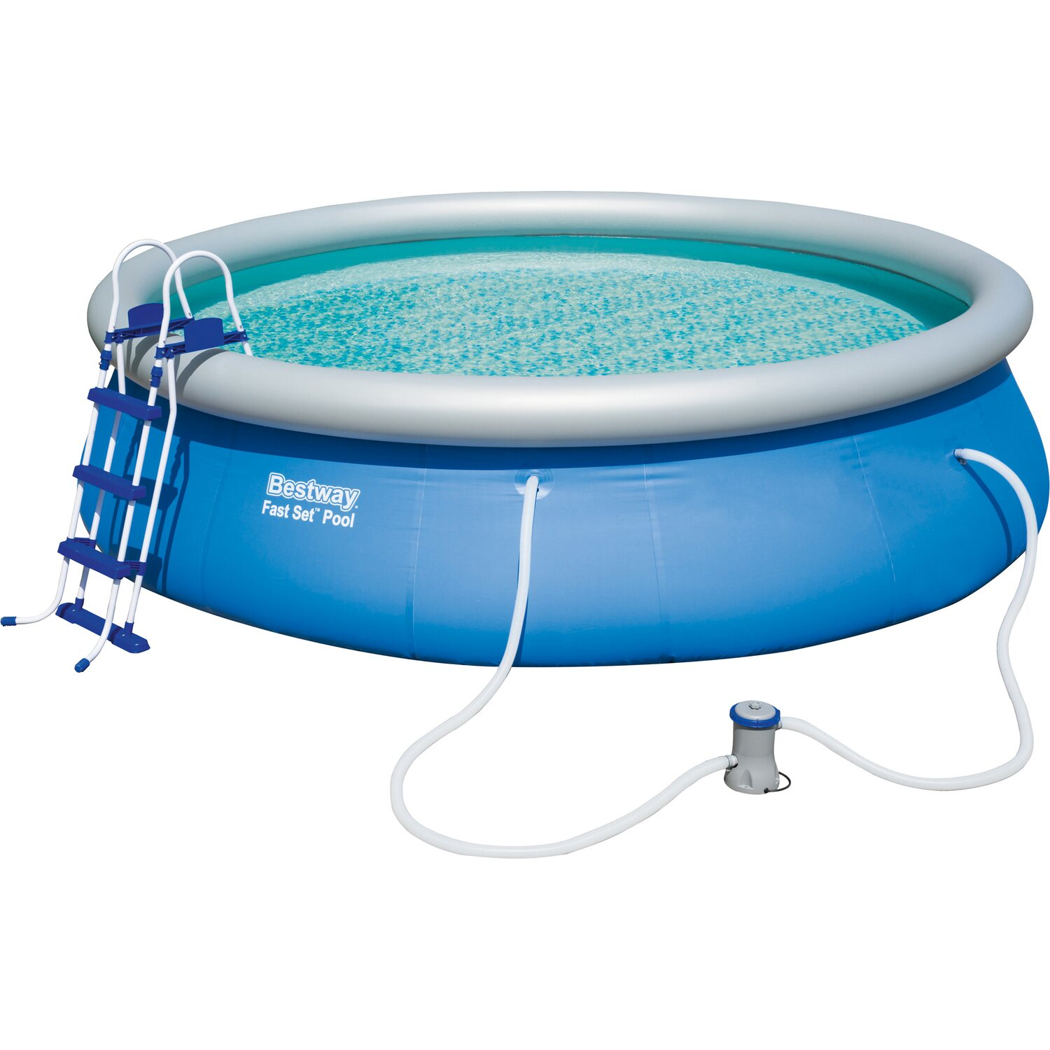 Bestway fast set pool 457 cm x 107 cm kaufen bei obi for Bestway pool obi