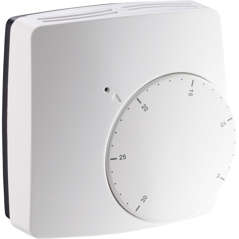 Wireless digitaler Funk-Raumthermostat Set für Wohnräume Heizungssystem weiß