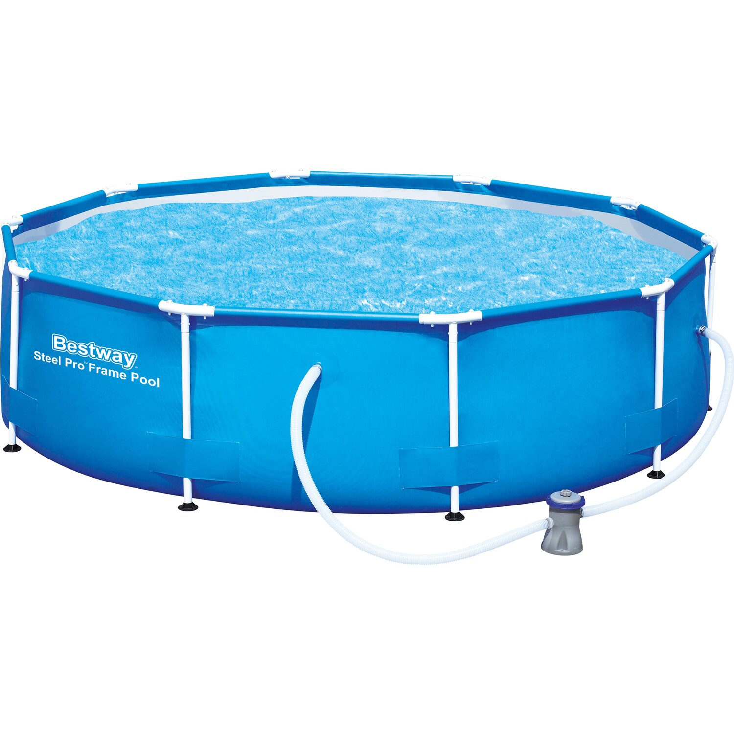 Pool online kaufen bei obi for Swimming pool 4 eckig