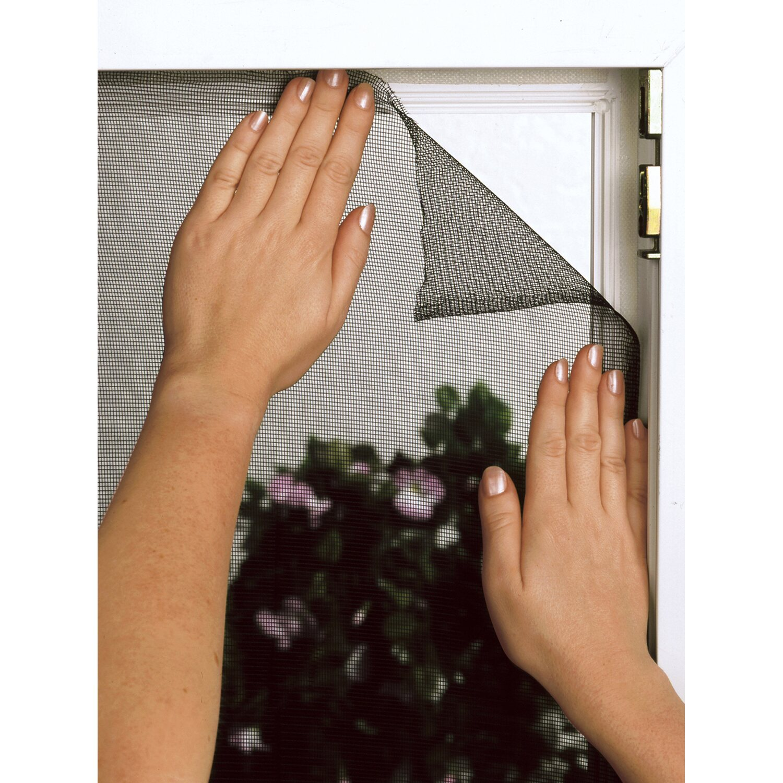 Fliegengitter Fenster 130 Cm X 150 Cm Schwarz