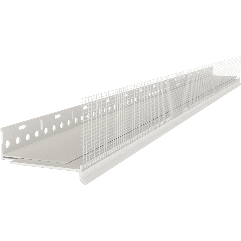 Catnic  Sockelprofil Duobase PVC zweiteilig 200 / 205 cm