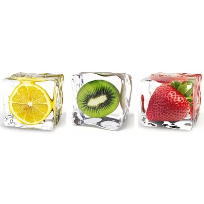 Eurographics Wandtattoo 3er-Set Iced Fruits DP