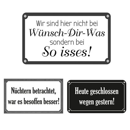 Eurographics Deco Sticker Funny Quotations