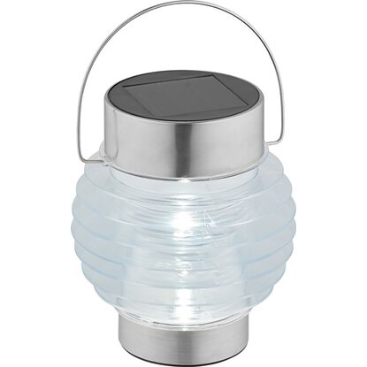 OBI LED-Solarleuchte Casina Transparent