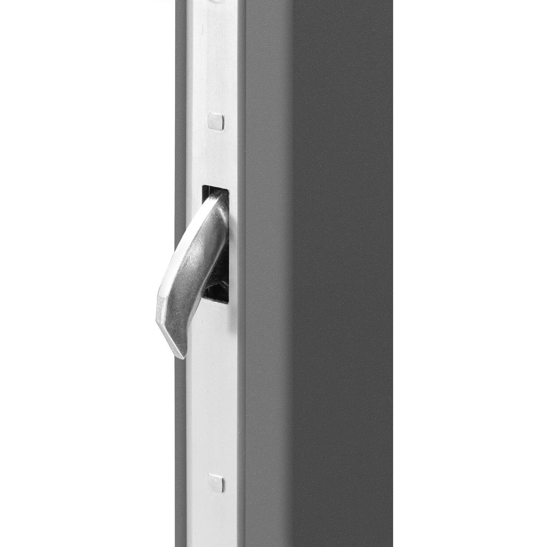 haustür thermospace neapel 110 cm x 210 cm anthrazit anschlag außen