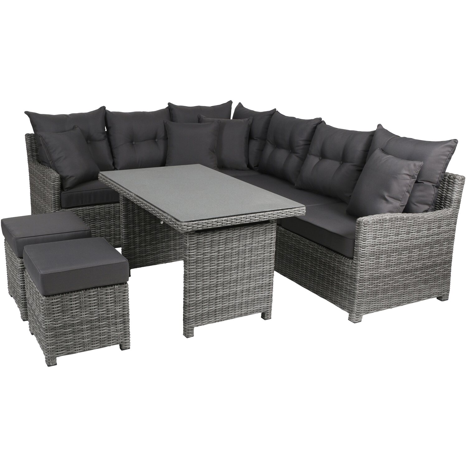 greemotion lounge gruppe miami comfort kaufen bei obi. Black Bedroom Furniture Sets. Home Design Ideas