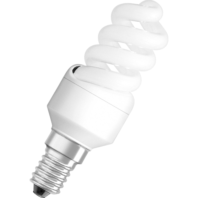 Osram Energiesparlampe Spiralform E14 / 12 W (6...