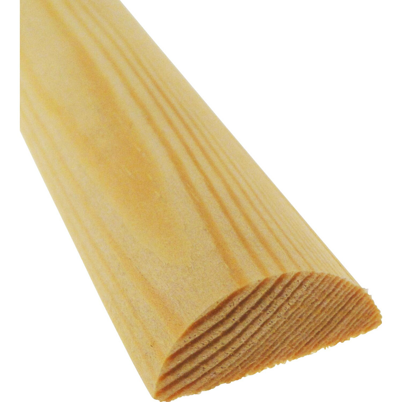 Halbrundstab Kiefer 10 Mm X 5 Mm Lange 900 Mm Kaufen Bei Obi