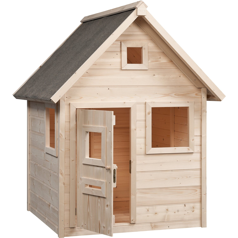 swing king spielhaus britt natur 140 cm x 155 cm x 180 cm kaufen bei obi. Black Bedroom Furniture Sets. Home Design Ideas