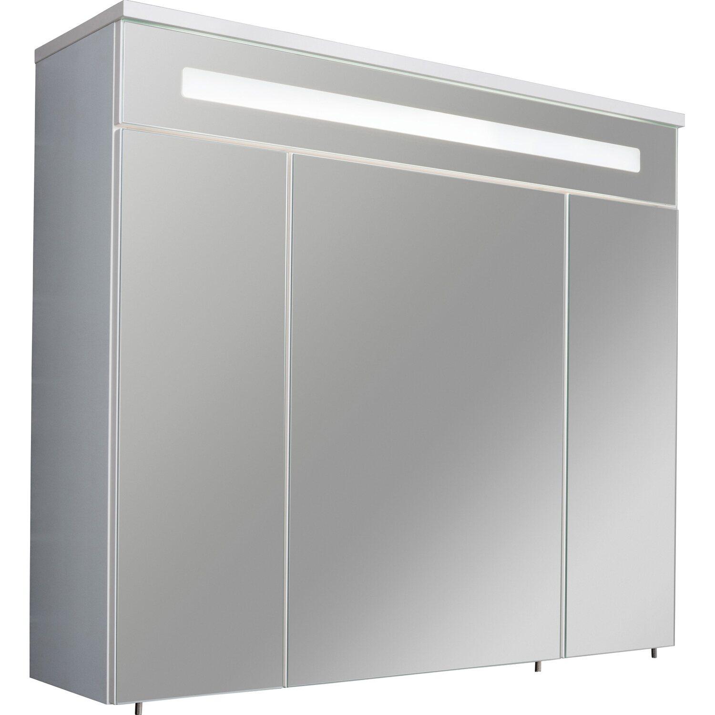 Gut bekannt Fackelmann Spiegelschrank 80 cm Kara Weiß EEK: A kaufen bei OBI CD65