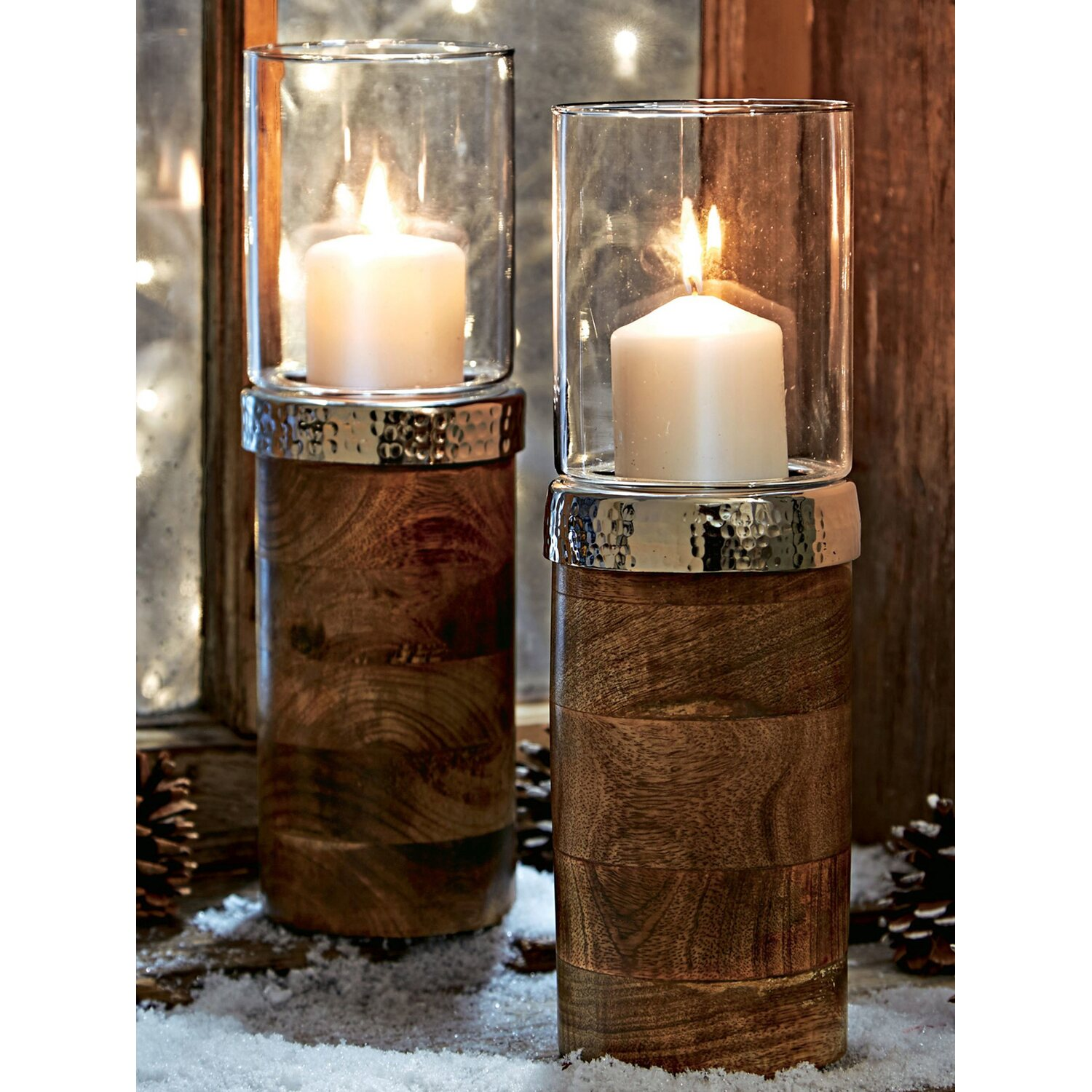 Best Of Home Windlicht Wood Kaufen Bei Obi