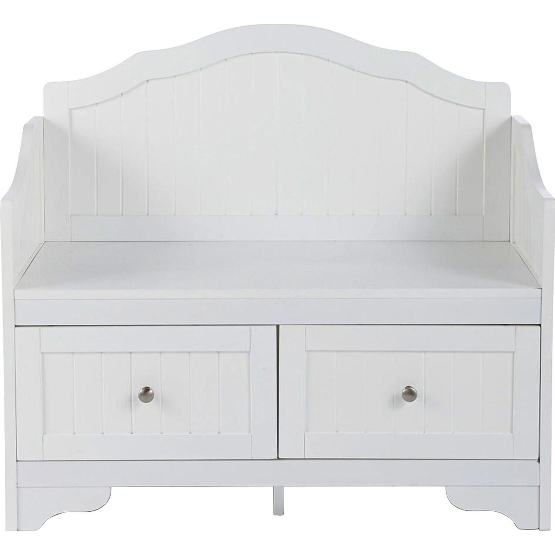 liamare by miavilla sitzbank wei kaufen bei obi. Black Bedroom Furniture Sets. Home Design Ideas