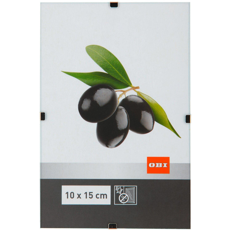 OBI rahmenloser Bilderrahmen 10 cm x 15 cm Antireflexglas kaufen bei OBI