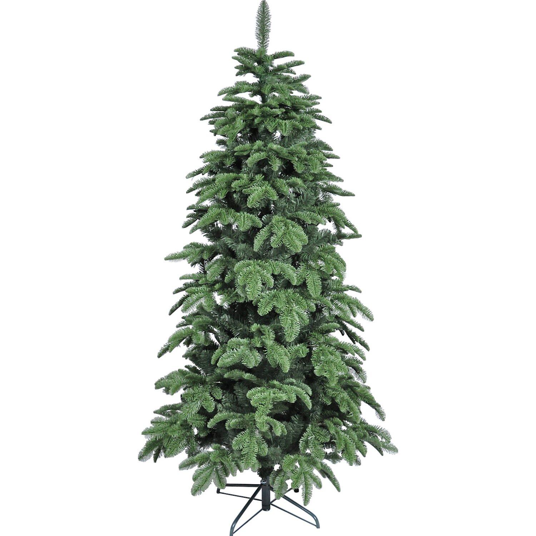Künstlicher Weihnachtsbaum Wie Echt.Takasho Künstlicher Weihnachtsbaum Nordmanntanne Slim 120 Cm