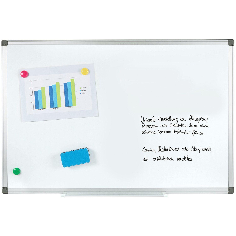 magnettafel schreibtafel mit uhr kaufen