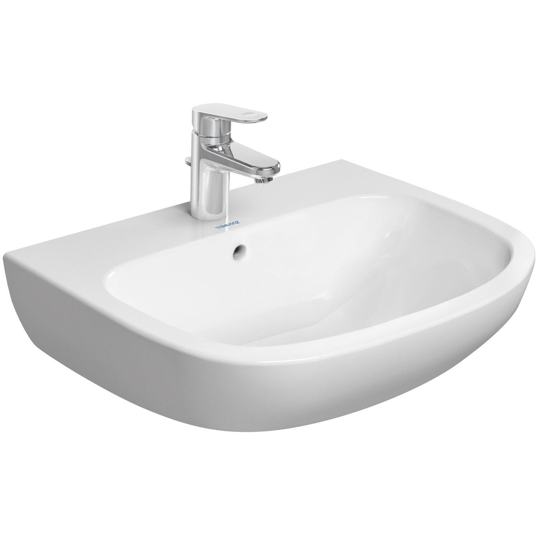 duravit standard waschbecken d code 60 cm rund wei kaufen bei obi