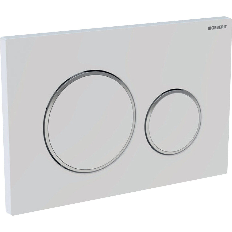 Bevorzugt Geberit Betätigungsplatte Weiß kaufen bei OBI SX45