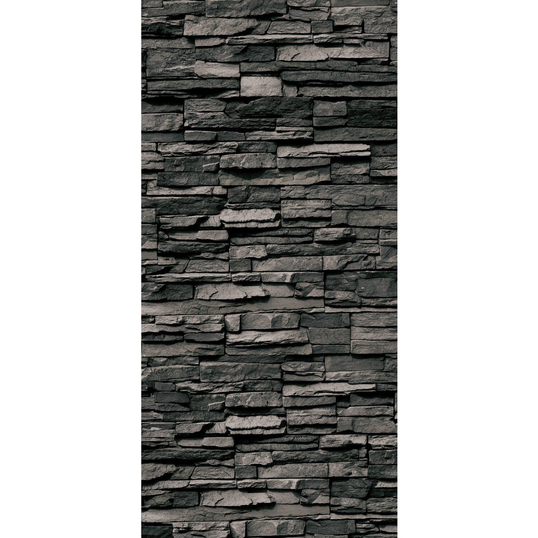 Schulte Duschrückwand Decodesign Dekor Stein Verblender Anthrazit 210 x 100 cm Preisvergleich
