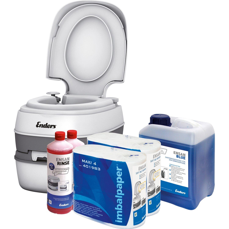 Enders Campingtoiletten Starter-Set WC Comfort ...