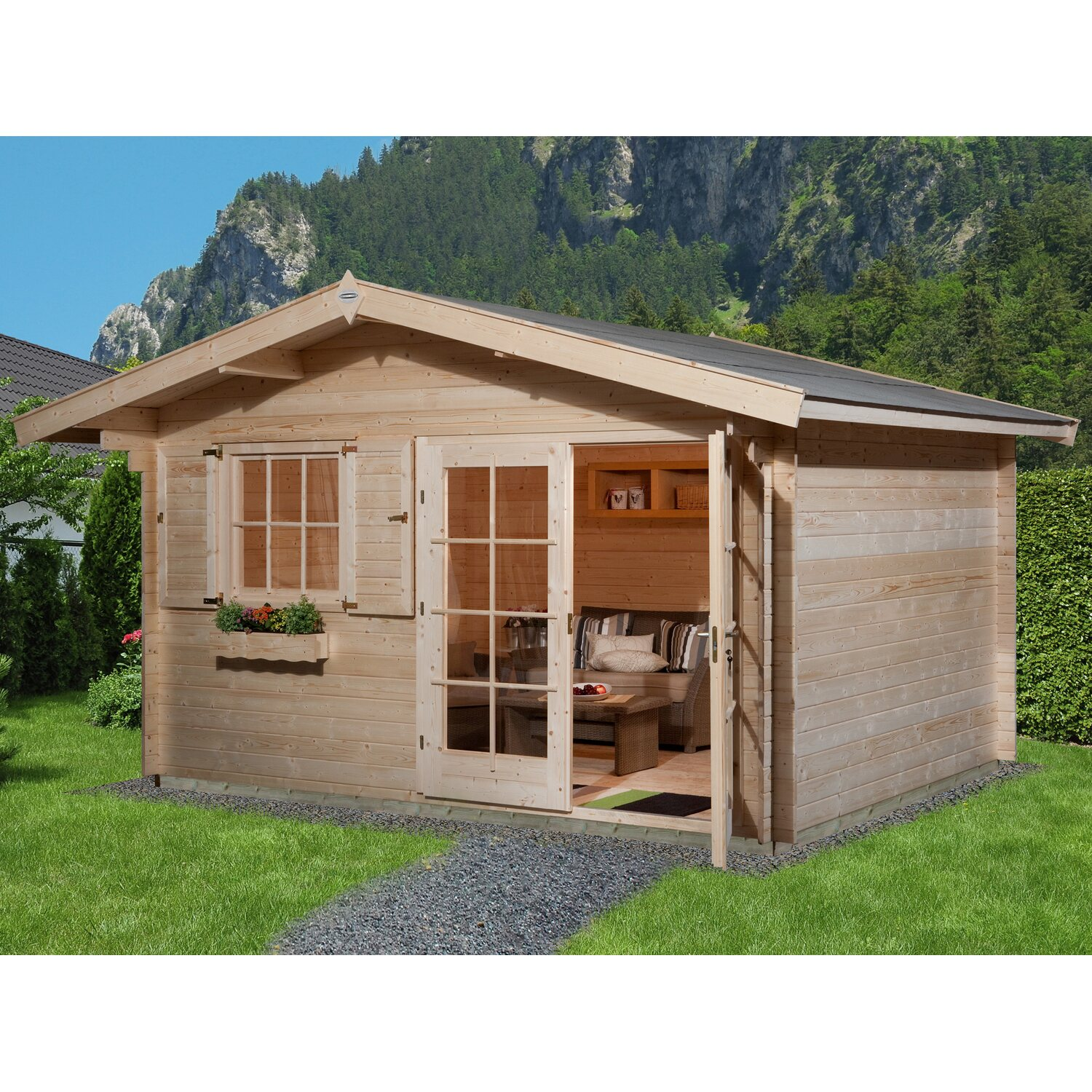 obi gartenhaus panorama my blog. Black Bedroom Furniture Sets. Home Design Ideas