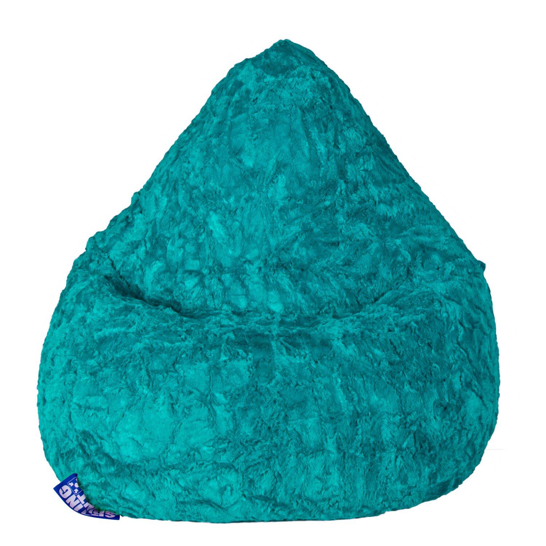 Sitting Point Sitzsack Fluffy 120 l Smaragd