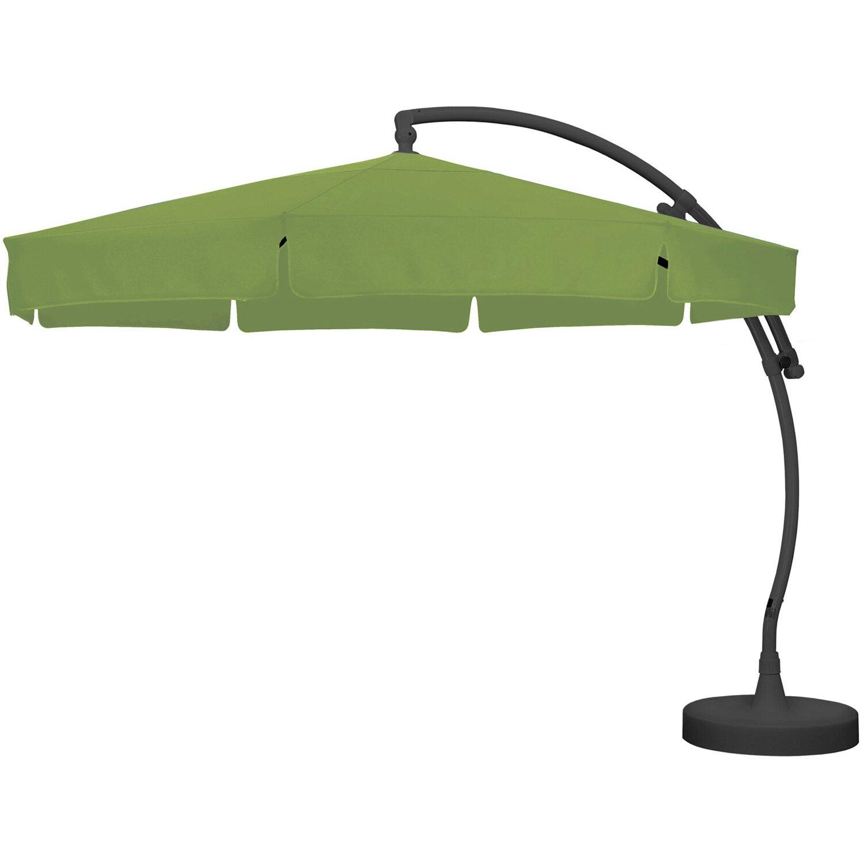 sun garden ampelschirm easy sun parasol premium 350 cm gr n kaufen bei obi. Black Bedroom Furniture Sets. Home Design Ideas