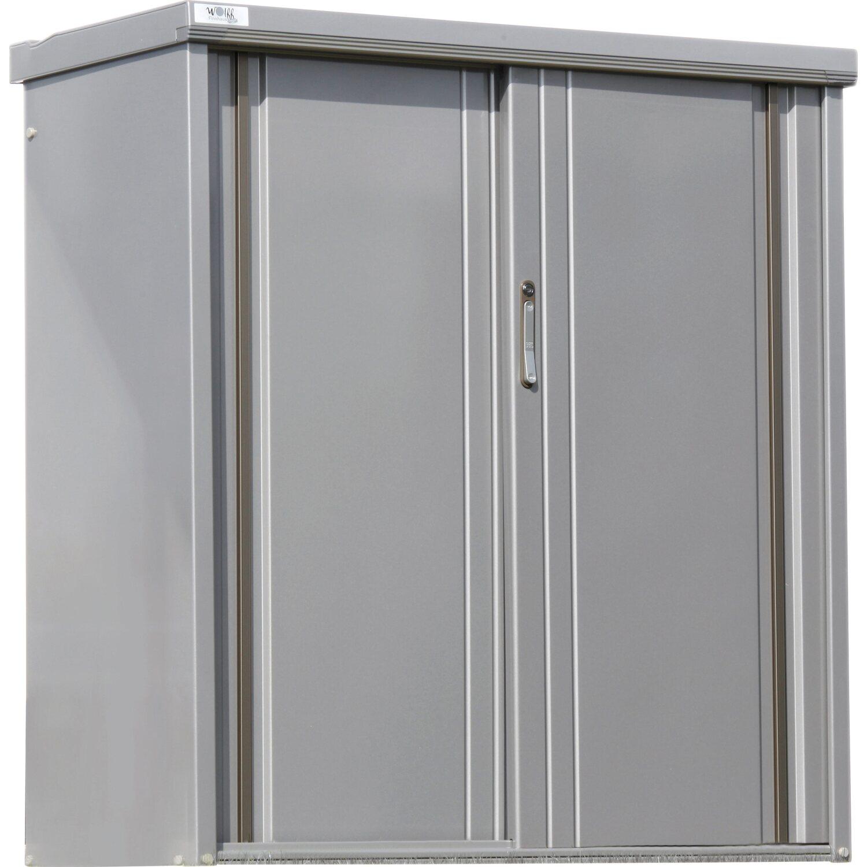 wolff finnhaus metall ger teschrank 135 rauchgrau b x t 130 cm x 53 cm kaufen bei obi. Black Bedroom Furniture Sets. Home Design Ideas
