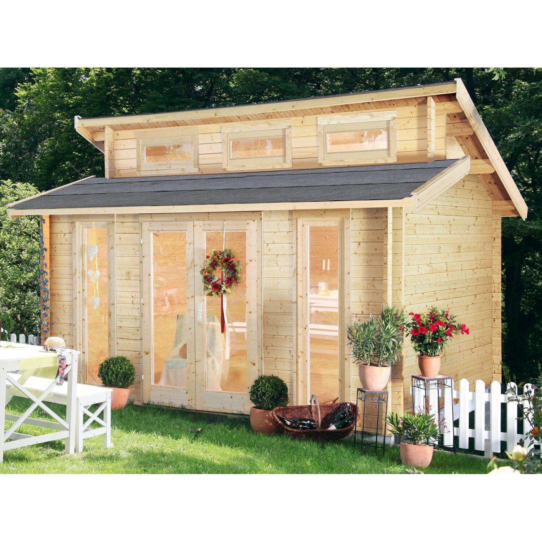 wolff finnhaus holz gartenhaus langeoog 40 b x t 400 cm x 310 cm kaufen bei obi. Black Bedroom Furniture Sets. Home Design Ideas
