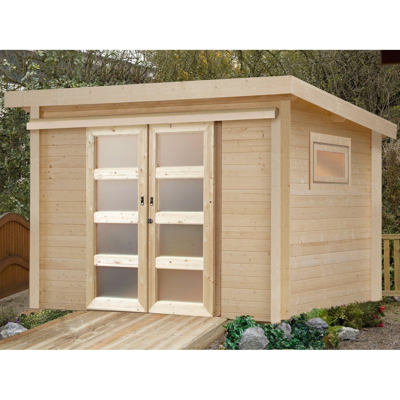 wolff finnhaus holz gartenhaus pulti 28 st b b x t 300 cm x 240 cm kaufen bei obi. Black Bedroom Furniture Sets. Home Design Ideas