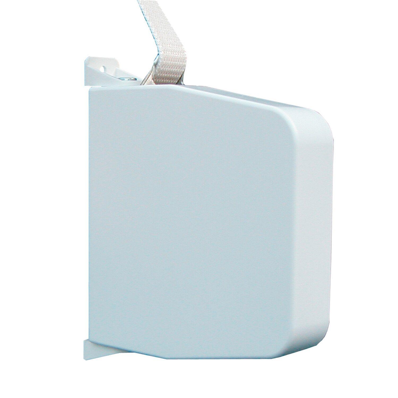 Aufschraubwickler Maxi schwenkbar Weiß