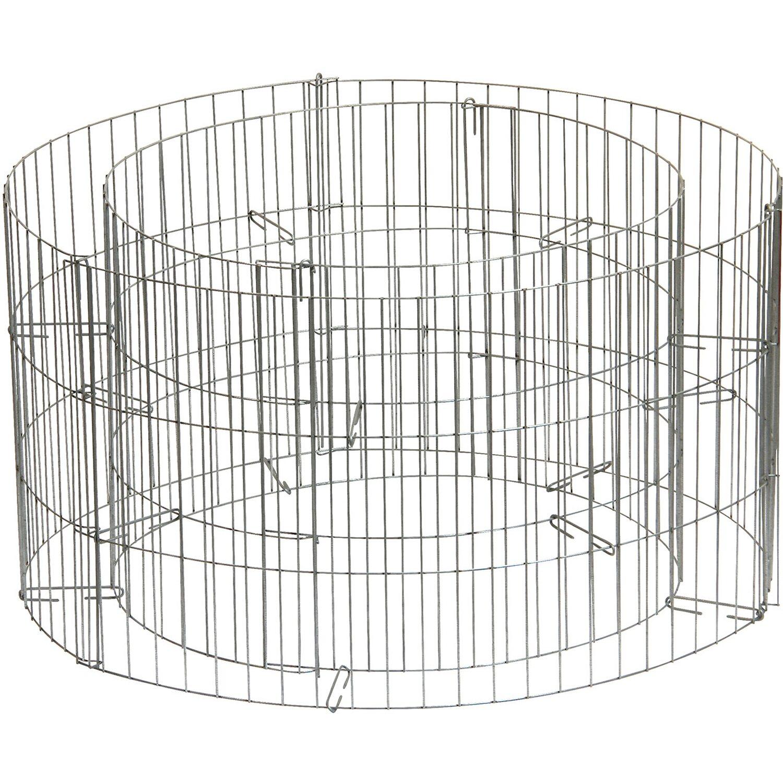 Bellissa Gabionen-Hochbeet rund Ø 58 cm x H 30 cm
