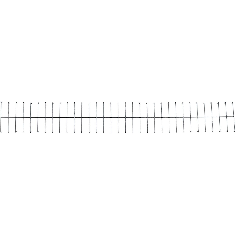 Bellissa Gabionen-Hochbeet Abdeckgitter 4er-Set 80 cm x 10 cm