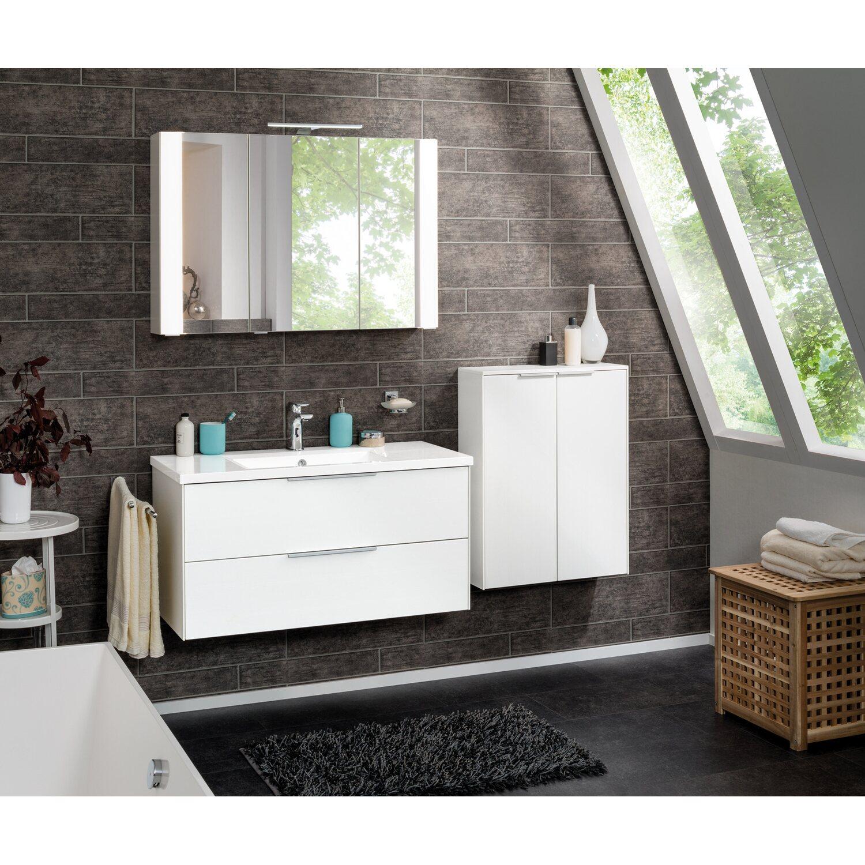fackelmann waschbecken wei 101 cm kaufen bei obi. Black Bedroom Furniture Sets. Home Design Ideas