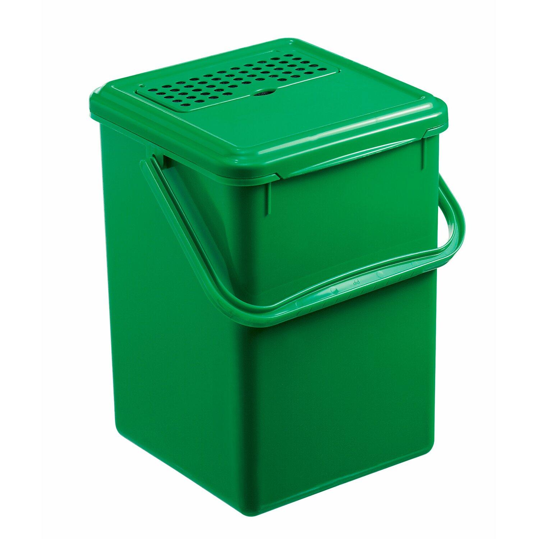 Rotho Komposteimer mit Filter Grün 8 l kaufen bei OBI