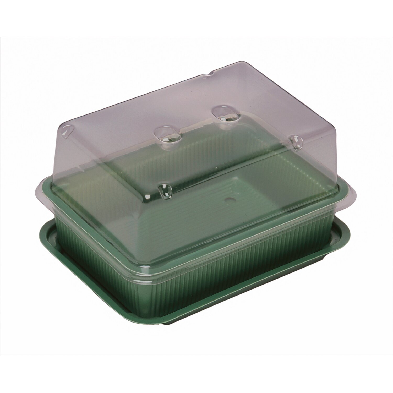 OBI Mini-Treibhaus 20 cm x 16 cm x 14 cm Grün kaufen bei OBI