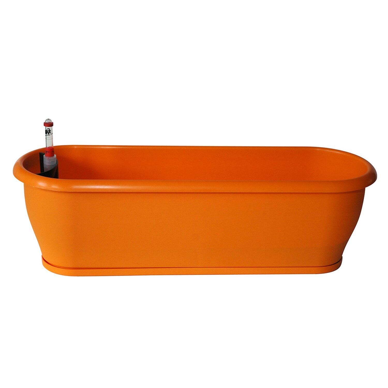 Ebertsankey  Bewässerungs-Blumenkasten Style 60 cm Orange