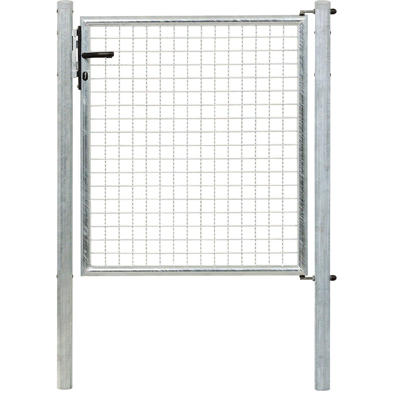 Einzeltor für Maschendraht- und Fix-Clip Pro-Zaun Feuerverzinkt 100 cm x 100 cm Preisvergleich