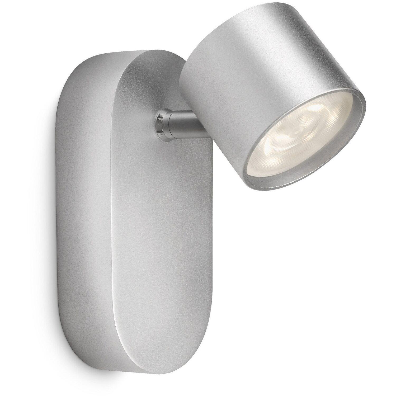 Philips LED-Spot 1er EEK: A++ Star Silber