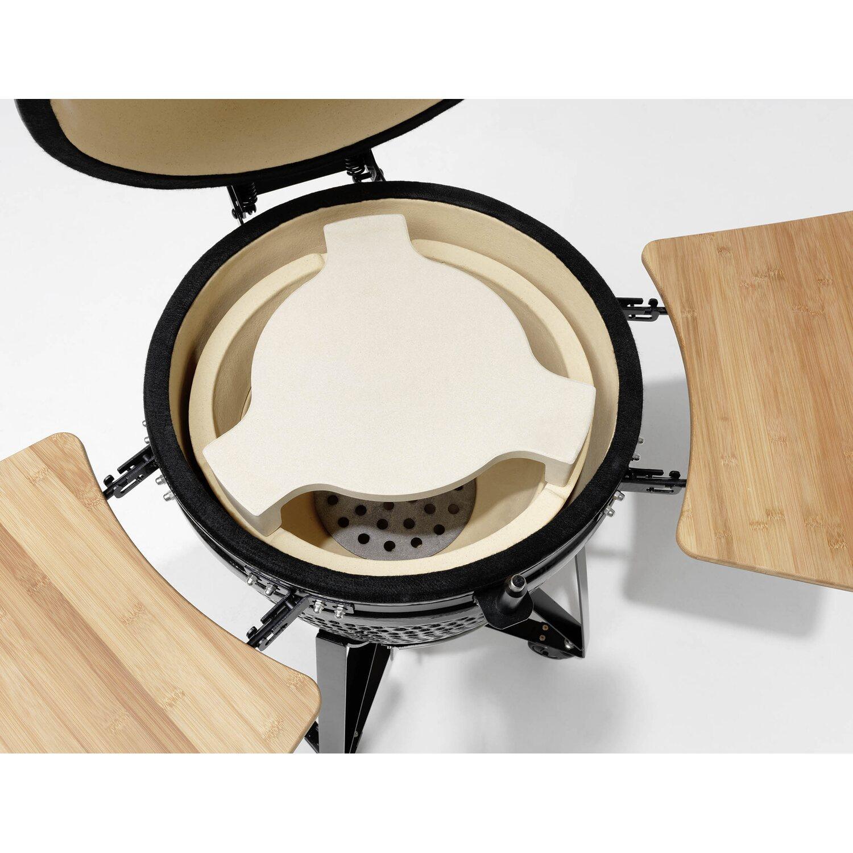 justus holzkohlegrill black j egg xl keramik kaufen bei obi. Black Bedroom Furniture Sets. Home Design Ideas