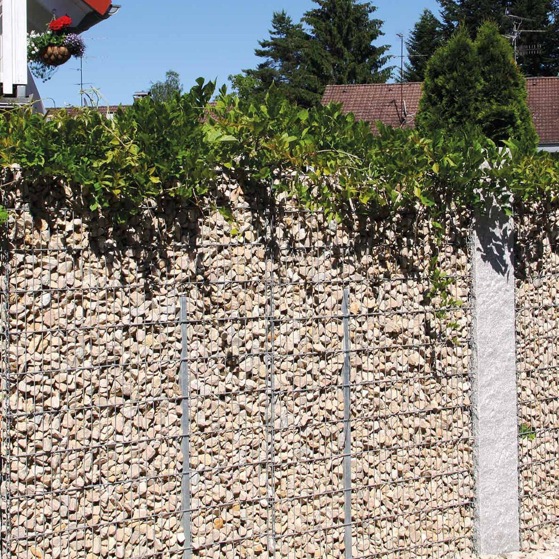 bellissa gabionen mauer limes mit kalkstein f llung 115 cm x 12 cm x 180 cm kaufen bei obi. Black Bedroom Furniture Sets. Home Design Ideas
