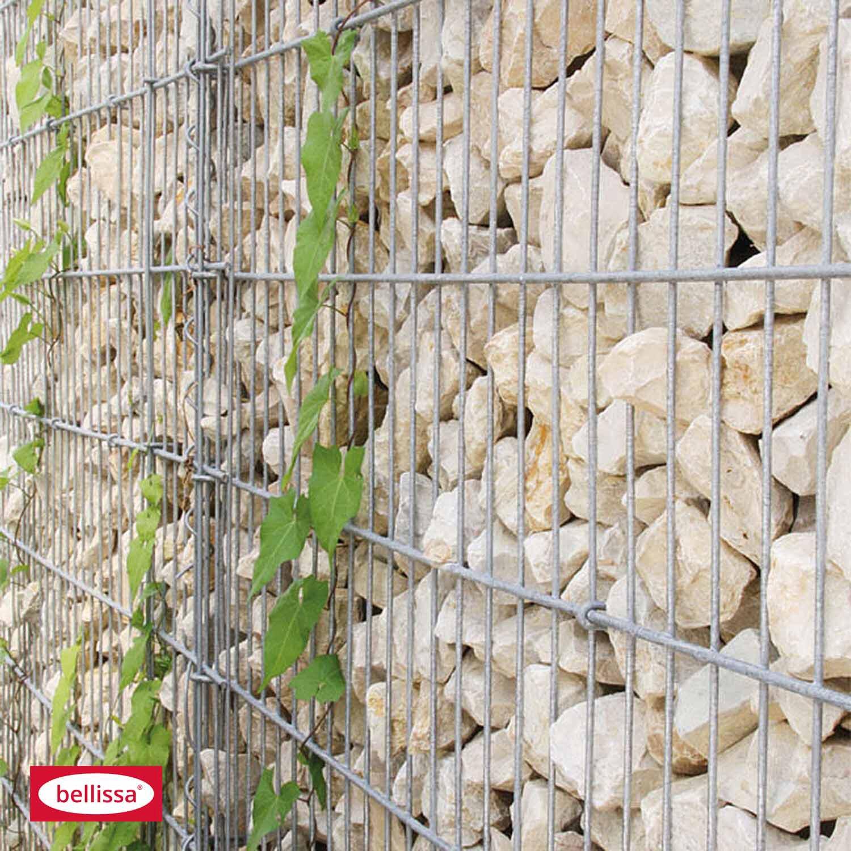 bellissa gabionen mauer limes mit kalkstein f llung 115 cm x 23 cm x 180 cm kaufen bei obi. Black Bedroom Furniture Sets. Home Design Ideas