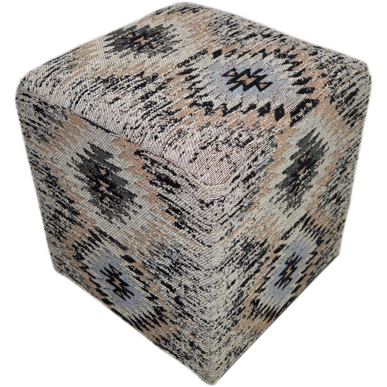 pouf bavaria 410 grau 42 cm x 42 cm kaufen bei obi. Black Bedroom Furniture Sets. Home Design Ideas