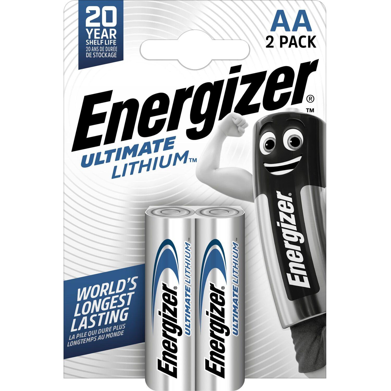 Energizer 1x2 ENERGIZER Ultimate Lithium Mignon AA LR 6 1,5V
