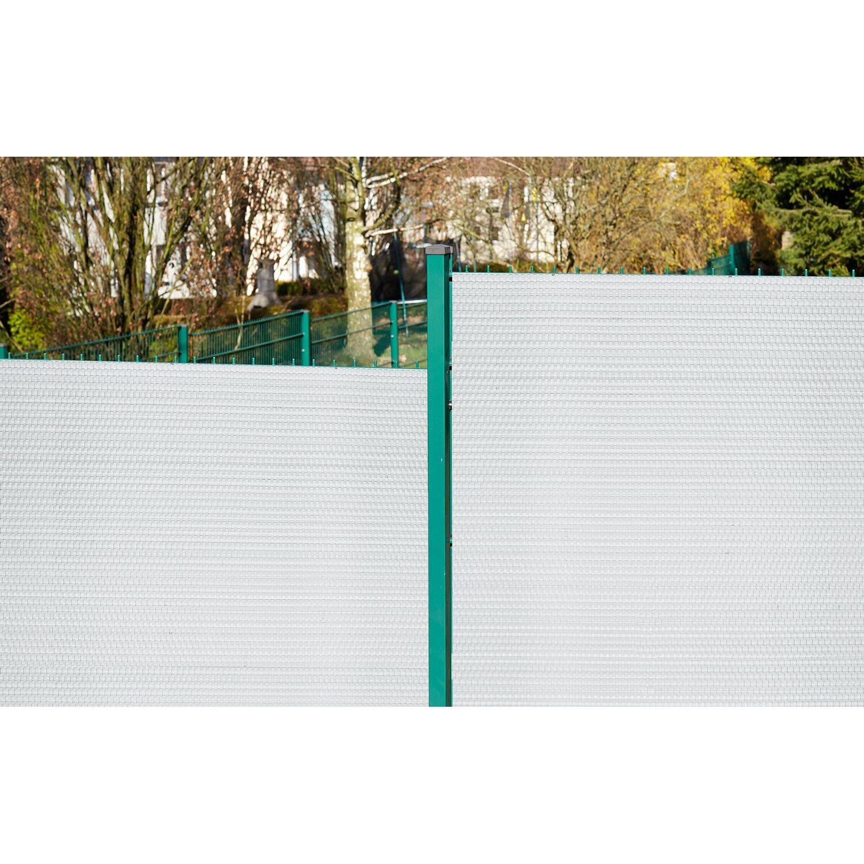 Gartenfreude Polyrattan Sichtschutz 500 Cm X 90 Cm Weiss Kaufen Bei Obi