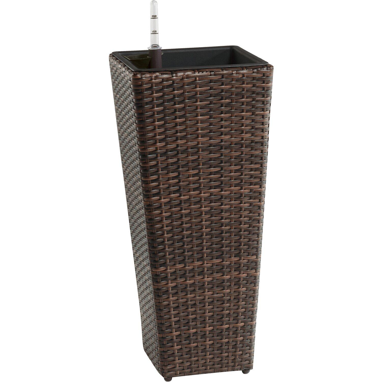 gartenfreude pflanzk bel konisch 28 x 28cm bicolour braun. Black Bedroom Furniture Sets. Home Design Ideas