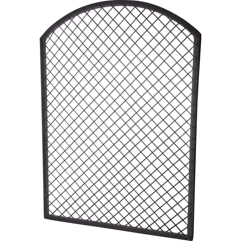 gartenfreude rankgitter spalier polyrattan 101 5 cm x 2 5 cm anthrazit kaufen bei obi. Black Bedroom Furniture Sets. Home Design Ideas